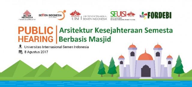 Public Hearing: Arsitektur Kesejahteraan Semesta Berbasis Masjid