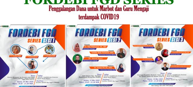 Penyaluran Bantuan bagi Marbot Masjid dan Guru Mengaji terdampak Covid19